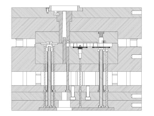 disegno stampo - Costruzione stampi pressofusione zama
